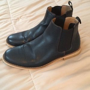 Goodfellow Chelsea boots men's size 10 in black
